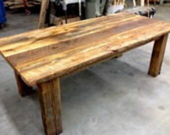 DIY Kit-Barnwood Dining Table, Do It Yourself, Reclaimed Wood, Barn Wood, Reclaimed Wood Table, Do-It-Yourself, Do-It-Yourself Kit,Reclaimed