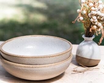 Rustic bowl - Ceramic bowl - Handmade bowl - Pasta bowl