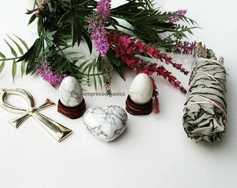Howlite Yoni Eggs