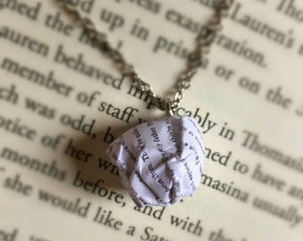The Lion, the Witch and the Wardrobe - Paper Ball Pendant