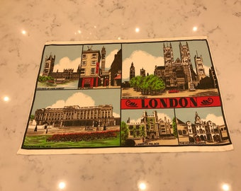 London/Vintage Tea Towel