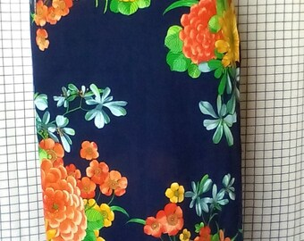 cotton pareo/blue sarong