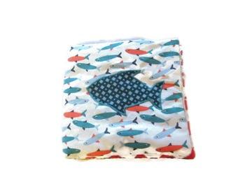 Book sensoreil fabric baby 0-18 months