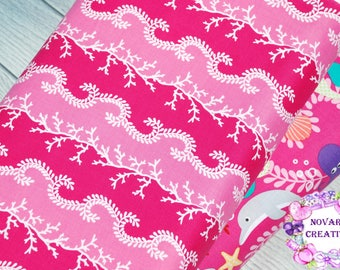 FREE GIFT with Purchase - Micheal Miller/Mer-Mates Coral Sea/Pink/Cotton/Quilting/Sewing