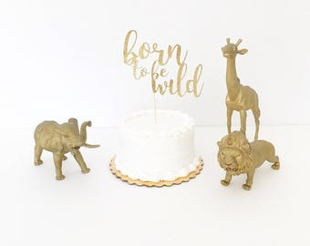 Born To Be Wild - Cake Topper