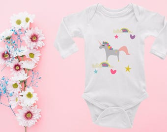 Unicorn Boho baby cloths Unicorn Baby Bodysuit Baby Clothes Newborn Baby Shower gift Baby Vest Baby Gift  Baby Outfit Toddler bodysuit