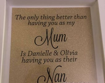 Gift for mum / mother gift / personalised / personalised gift / mother gifts / gifts for her / grandmother gift / gift for grandmother