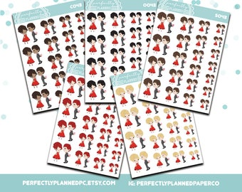 043 | Date Night Gift | Planner Girls Planner Stickers