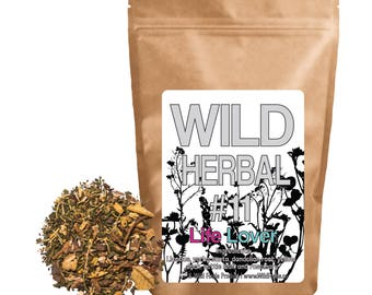Wild Herbal #11 - Live Lover - 6 Ingredient Blend (4 ounce)