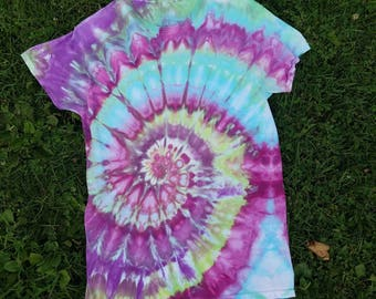 One of a Kind Tie Dye/Ice Dye Tshirt