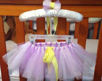 Newborn tutu, infant tutu, baby tutu, Rapunzel inspired Tutu, princess tutu, baby girl gift, baby shower gift