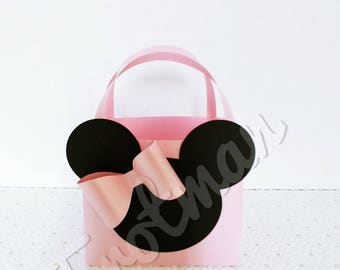 Minnie Mouse Inspired Favor Box