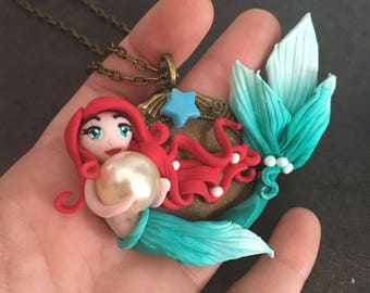 Mermaid Ariel Fimo