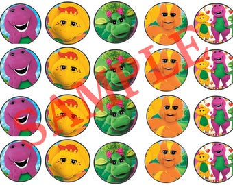 Barney Stickers 20pcs