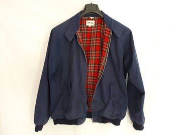 JUMP THE GUN Brighton tartan xl 42 Harrington jacket