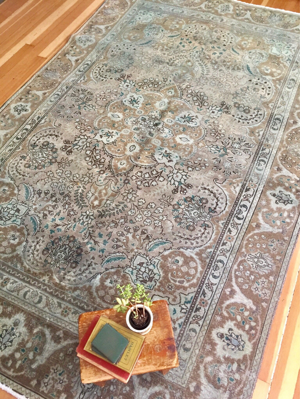 vintage pin area turkish rugs morrocan kilim rug bohemian rose floral pink