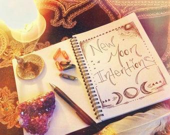 New Moon Journal Ritual