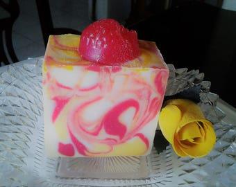 Rasberry Lemonade Cold Process Soap