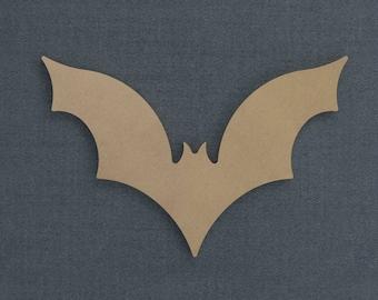 Halloween Bat, Bat Cutout Wood Cutout, Unfinished Sign