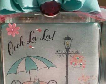 Paris themed nightlight, home decor, keepsake, gift