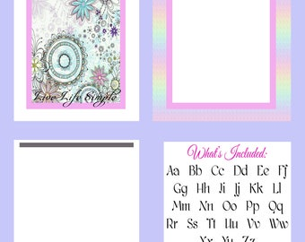 Planner Cover Set Can Be Used For Dividers Dashboards Binder Journal Covers