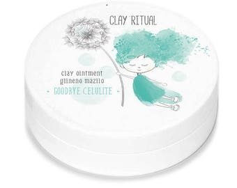 Clay Ritual CELLULITE OINTMENT ••• Natural Cellulite Treatment ••• Professional Body Care