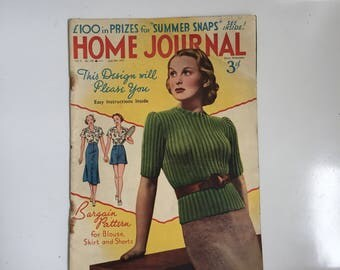 1930s Home Journal magazine