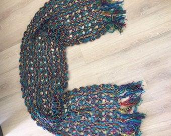 beautiful hand crochet stole/shawl