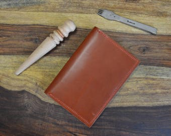 Wickett & Craig Bridle Leather Passport Cover