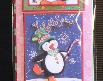 Mary Engelbreit Christmas Dimensional Stickers - LAST ONE