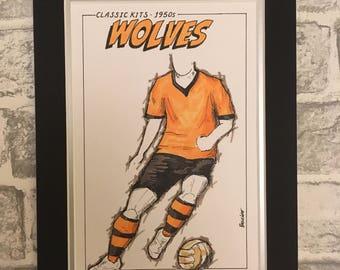 Wolverhampton Wanderers Classic Kits