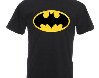 Batman Shirt Short Sleeve Men T-shirt