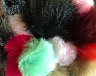 Add-On Faux Fur Pom