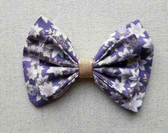 Purple and Gold Fall Winter Floral