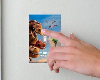 Good Dino- Lightswitch Cover- Good Dino Movie Room Decor