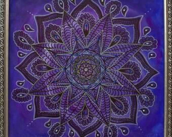 Mandala(Divine) 42x42cm