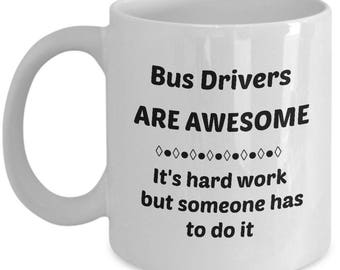 Awesome Bus Driver Coffee Mug makes a Great Gift
