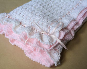 Ruffles Baby Blanket