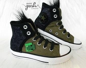 Trolls Shoes Converse Grumpy Branch Birthday Custom Chuck Taylor