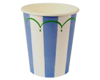 Sweet Blue Party Cups