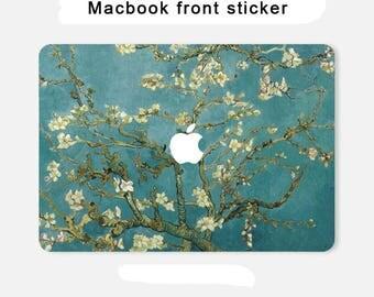 macbook front sticker macbook pro skin macbook sticker macbook air decal