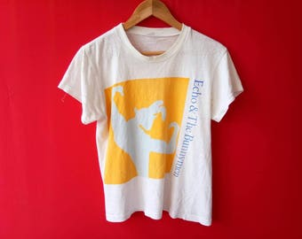 vintage echo and the bunnymen medium mens t shirt