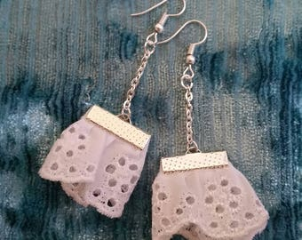 Small lace earrings