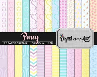 50% OFF - Little Pony Digital Paper