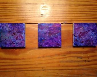 galaxy trilogy painting set