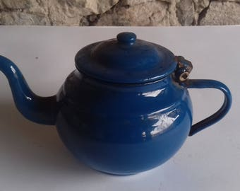Vintage teapot from 1940year