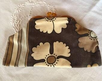 1960s Make up purse