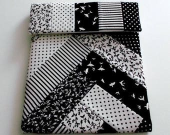 IPad Case, Black and White IPad Case,Tablet Case, Padded Tablet Case,Black & White Tablet Case,Ipad Protective Cover,Tablet Protective Cover