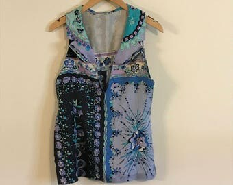 Vintage Authentic Emilio Pucci SleevelessTop
