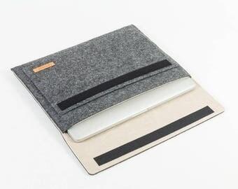 Laptop bag, laptop case, laptop sleeve, MacBook, Apple, tablet bag, tablet case, tablet sleeve, sizes XS-S-M-L-XL [Esma size L]